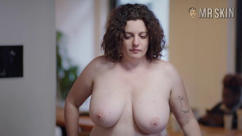 Milf beach boob pic