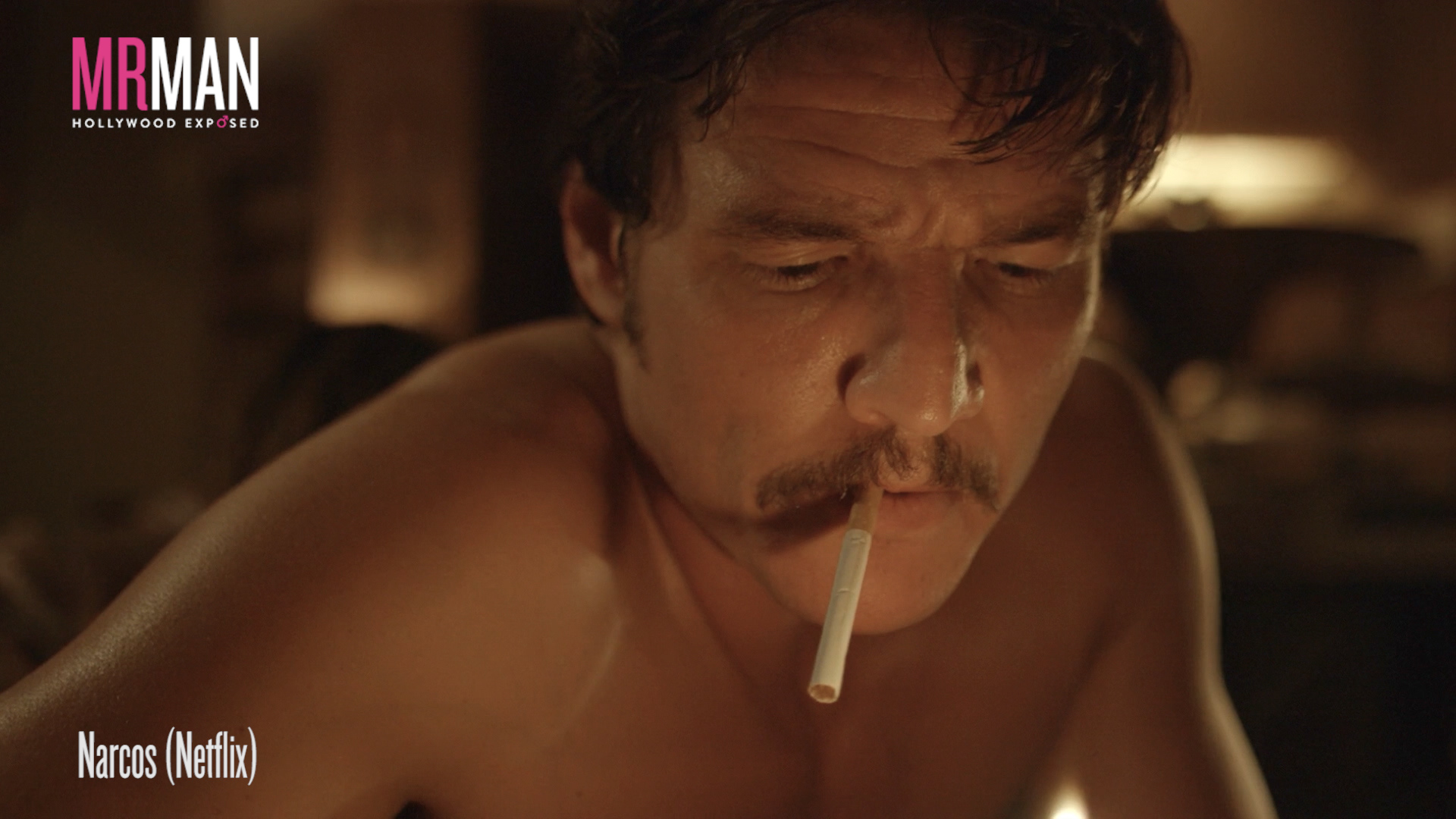 Get Ready to Blow with Nude Dudes of Narcos