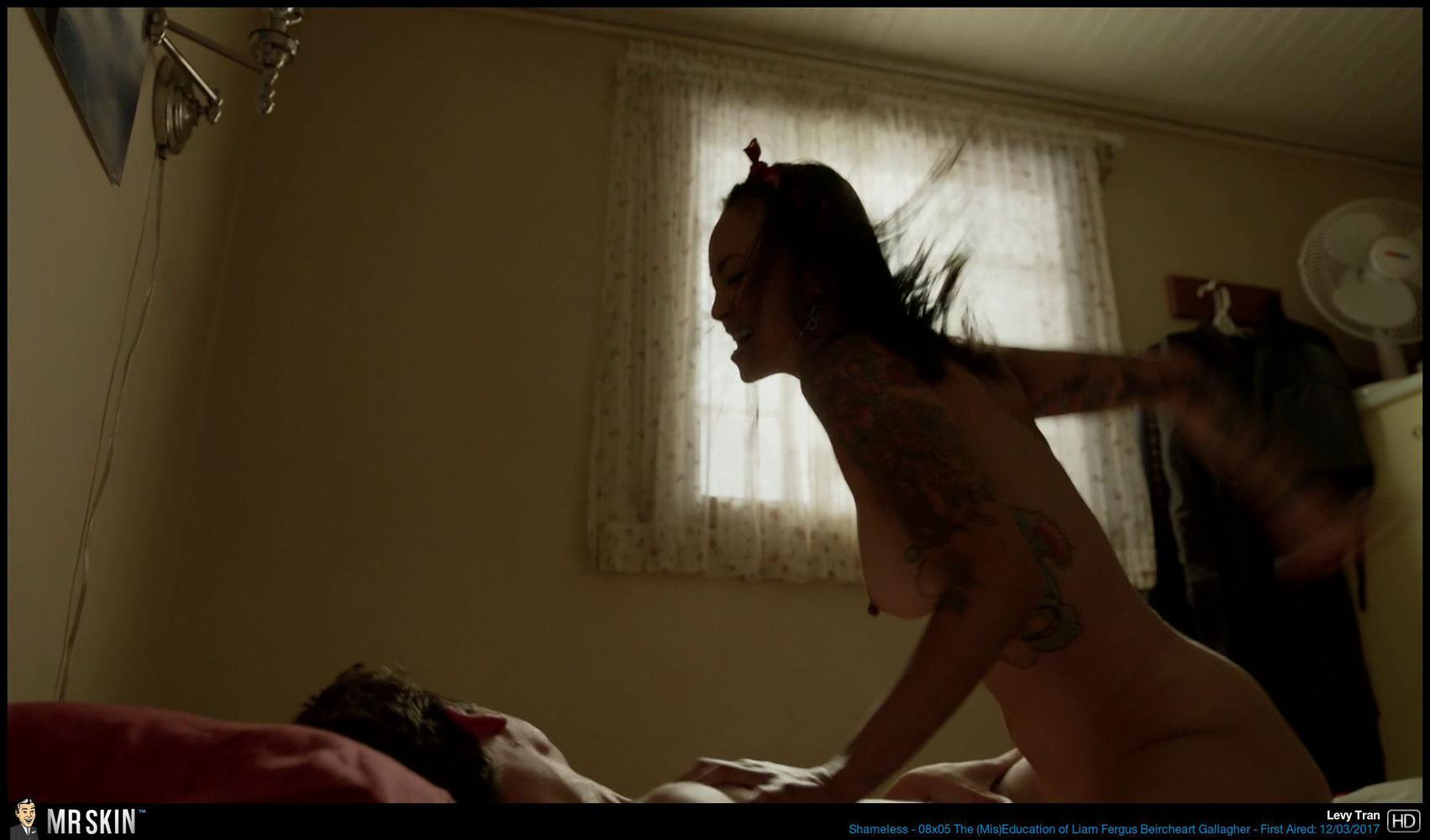 scene sex Levy tran